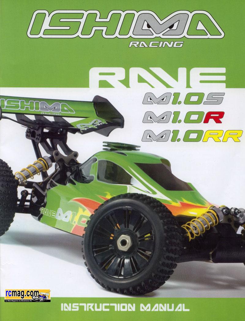 Ishima rave m1.0S 1/8 nitro buggy - YouTube
