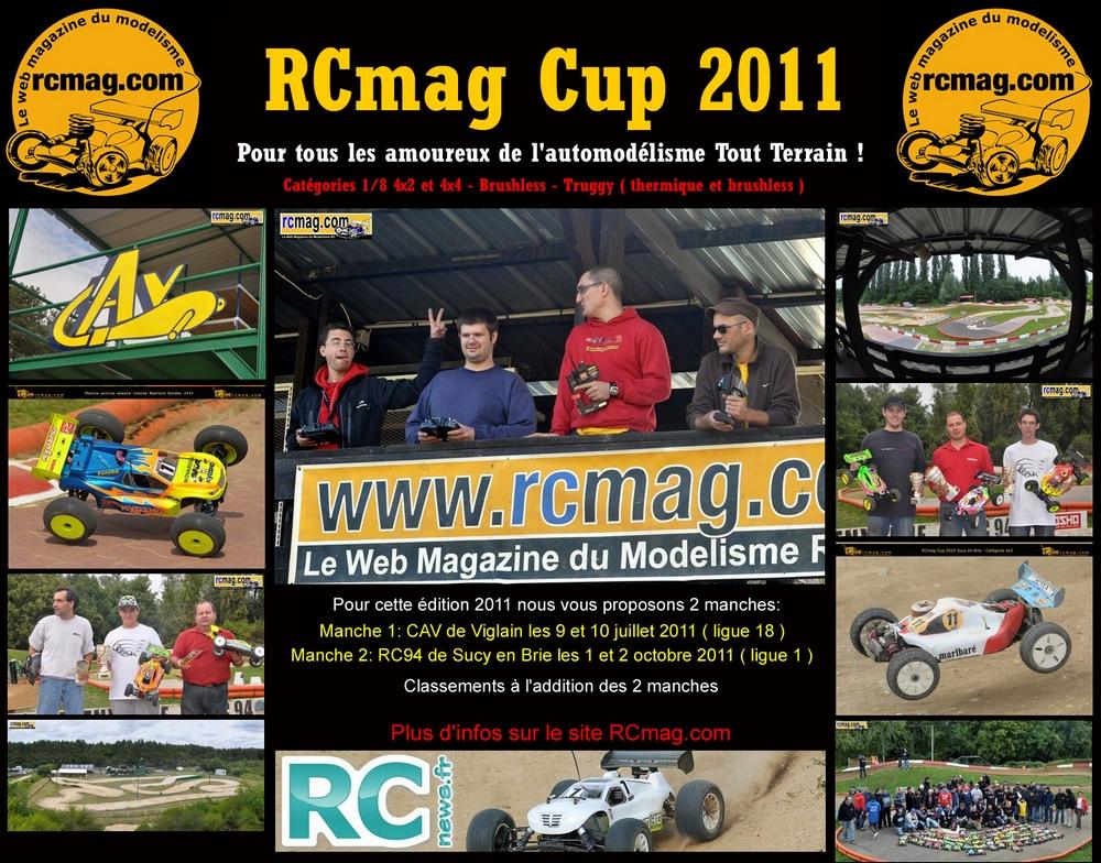 Ouverture des inscriptions RCmag Cup Viglain Centre juillet 2011 Affiche2011